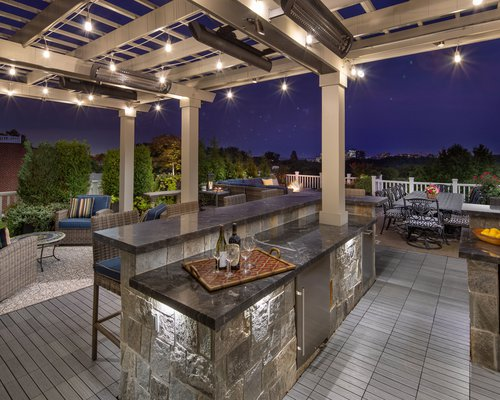 Rooftop Patio Pergola Lighting